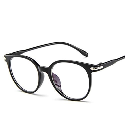 ZRTYJ Sonnenbrillen New Retro Rahmen Spiegel Fashion Brillengestell Persönlichkeit Vielseitig Flachspiegel Transparente Rahmen