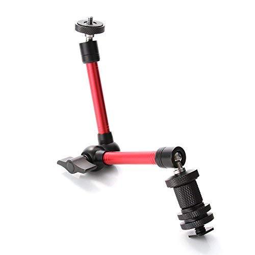 Einstellbare Reibung Articulating Magic Arm mit Cold Shoe Mount & Standard 1/4
