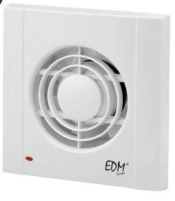 Extractor de baño EDM Ø75