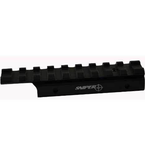 3/8 Dove Tail .22 to Mil Spec 1913 / Weaver Adapter for Air Guns / Air Rifle / Tippman A5 98 or Other Paintball Markers by SNIPERR