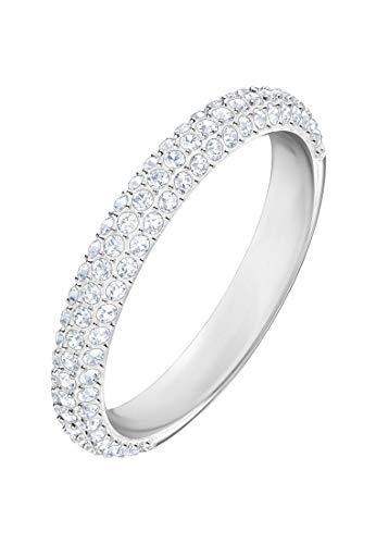 Swarovski Damen-Ringe Edelstahl Kristall \'- Ringgröße 55 5383948