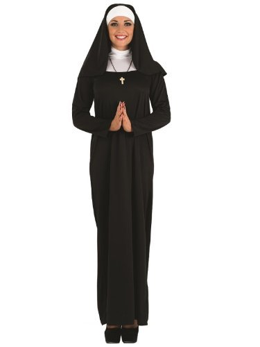 (Nun - Adult Kostüm - Medium - 40-42)