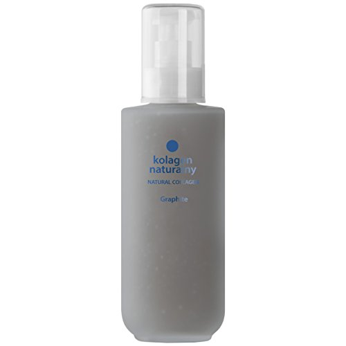 Colway NATURAL KOLLAGEN GRAPHIT - Haar Nägel & Füße Therapie Bio Anti-Age Raue Haut Tiefe Regeneration 200ml (Graphit Körper)