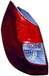 DX Bianco LEDRenault Scenic II dal 2006 al 2009 Equal Quality GP1013 FANALE Posteriore Destro