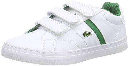 Lacoste FAIRLEAD 116 1 SPC Unisex-Kinder Sneakers Weiß (WHITE 001)