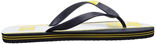 DC Shoes SPRAY GRAFFIK D0303276 Herren Zehentrenner Navy/Yellow