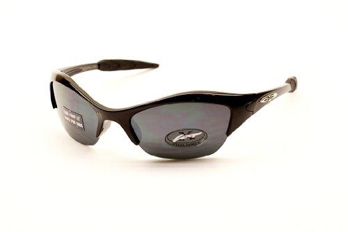 Xloop Kd55 Kinder Hild Mädchen Jungen (3-7Yr) Sport-Sonnenbrille Radfahren Baseball (, Gradient) 1.968504 Gradient C Schwarz