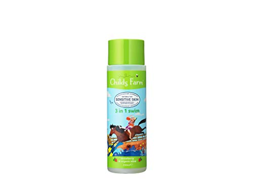 Childs Farm 3 in 1 Swim Strawberry & Bio-Minze, 250 ml -