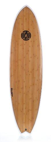 Light Erwachsene Surfboard BMS, White, 6\'10