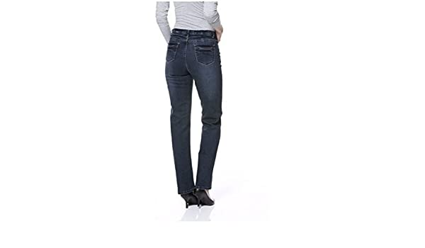 CORLEY Jeans Damen Kurzgröße Indigo Blue Gr. 19:
