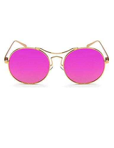 Frau Sonnenbrille mit Sonnenbrille Gezeiten Runde Gesicht Lady Yurt ( Farbe : 1 )