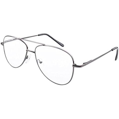 Eyekepper Stile aviator metallo cornici Cerniere a molla occhiali da lettura