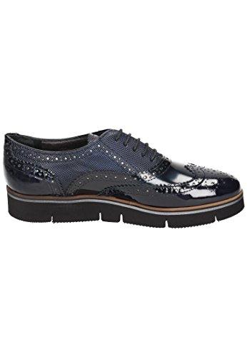 Maripé chaussures pour femme noir/argenté Bleu