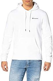 Champion mens Legacy Classic Small Logo Hooded Sweatshirt