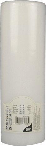 White Pillar Candle 25cm Tall