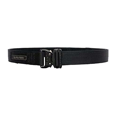 Fusion Tactical Military Police Shooters Belt Black Large 38-43