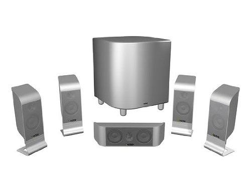 Infinity TSS 800 5.1 Heimkino-Lautsprechersystem (Satelliten 100 Watt, Center 125 Watt, Subwoofer 500 Watt) anthrazit (Infinity Subwoofer)