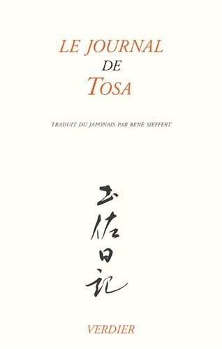 Le journal de Tosa : Suivi de Poèmes du Kokin-shû