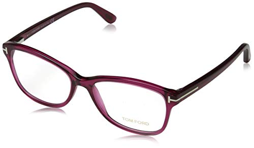 Tom Ford Damen Brille FT5404 075 53 Brillengestelle, Rosa,