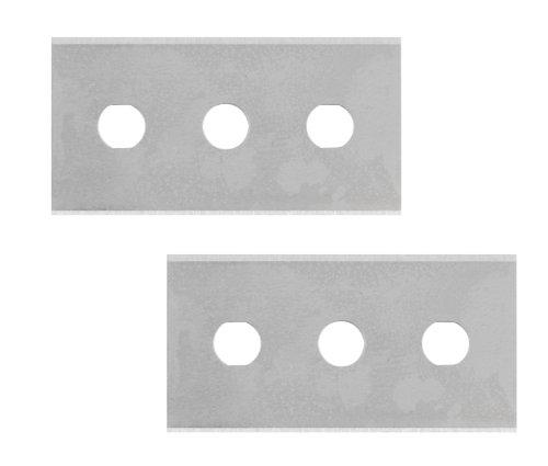Metaltex 297012-Spiel-2Klingen für Schaber Glaskeramik