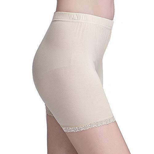 Vinconie Legging Court Femme Dentelle Shorts de Sécurité Legging Short sous Ju