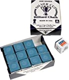 Original USA Billardkreide Silver Cup, 12 Stück im Karton