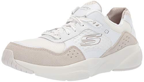 Skechers Damen Meridian-charted Sneaker, Weiß (White Natural Wnt), 38 EU Skechers Womens Heels