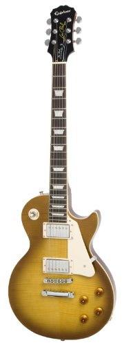 Epiphone Les Paul Standard Plustop PRO - Guitarra eléctrica, color honey burst
