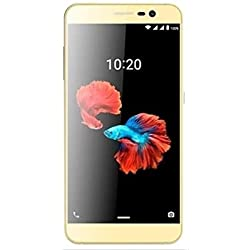 'ZTE Blade A910Dual SIM 4G 16go Gold-Smartphone (5.5, 16Go, 13MP, Android 6.0, Golden)