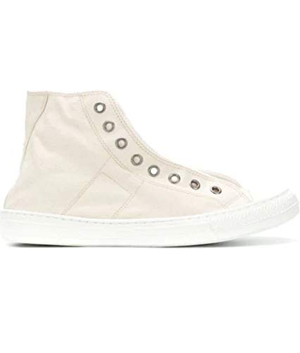 Maison Margiela Luxury Fashion Uomo S57WS0243P1875107 Beige Hi Top Sneakers | Stagione Outlet