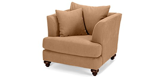 FabHomeDecor Chasin Snuggle Armchair (Light Camel)
