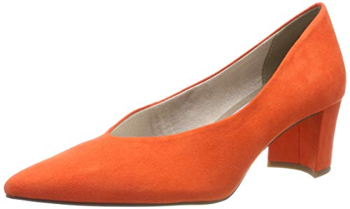 MARCO TOZZI Damen 2-2-22416-32 Pumps, Orange (Papaya 679), 38 EU