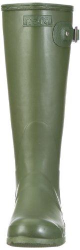 Nora Emma 76550, Bottes de pluie femme Vert-TR-J1-3