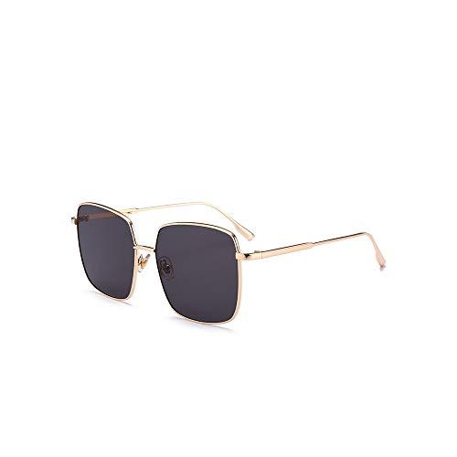 WJFDSGYG Mode Sonnenbrillen Frauen Designer Übergröße Platz Sonnenbrille Frauen Brille Uv400