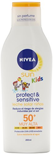 NIVEA SUN KIDS PROTECT & SENSITIVE SPF 50 + LECHE SOLAR P/SENSIBLES 200 ML
