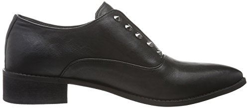 Black Lily Rida Shoes, Mocassins Femme Noir - Noir
