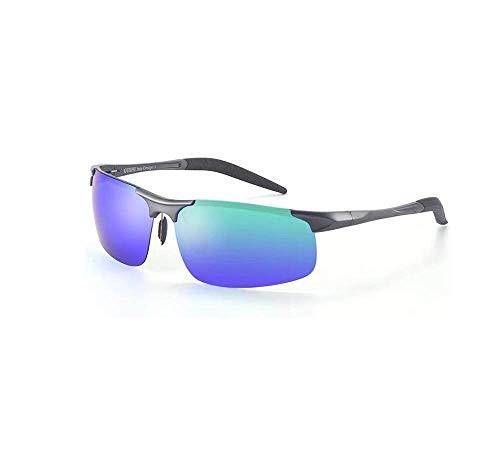Sonnenbrille Herren Sport Fahren Angeln Anti-UV Polarisierte Brille Mehrfarbig Optional (Farbe: Königsblau)