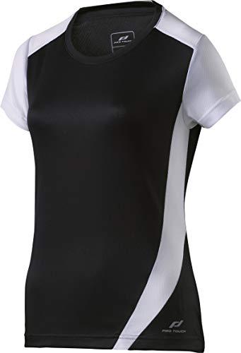 Pro Touch Club Damen T-Shirt, SCHWARZ/WEIß, 38 -