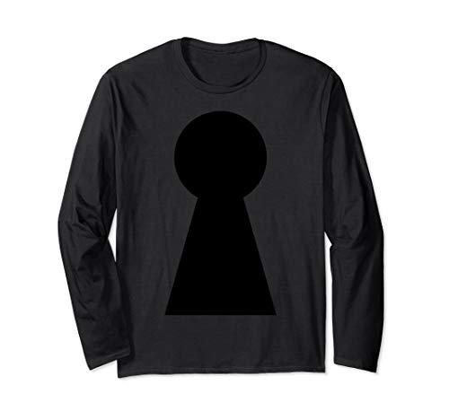 Kostüm Für Paare Einfache - Einfache Halloween Kostüm Idee Lock Keys Paare Langarmshirt