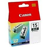 Inkrite NGSCB015U NG Druckertinte für Canon i70, i80, Pixma iP90, BCI-15BK, Schwarz