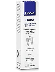 Linola Hand, 1 x 75 ml - Die Handcreme für trockene, raue oder rissige Hände