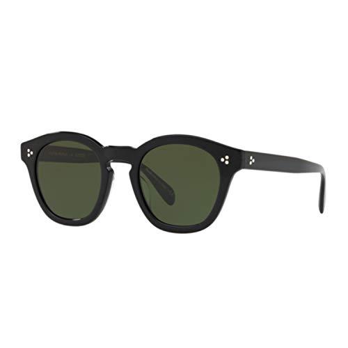 Oliver Peoples Sonnenbrillen BOUDREAU L.A. OV 5382SU Black/Vibrant Green Damenbrillen