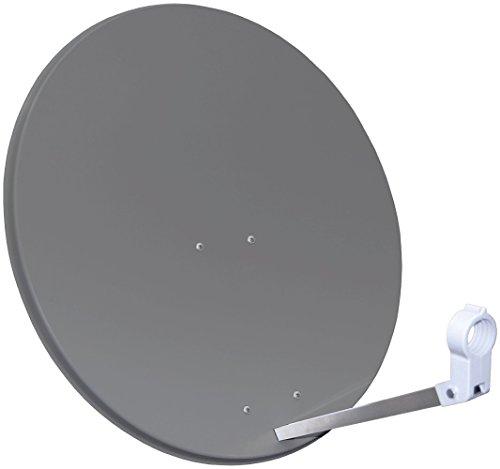 Opticum dispositivo satélite antena de alto rendimiento 80 cm, 3 colores a elegir - Rojo teja