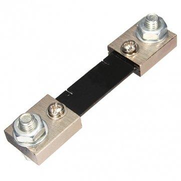 Bheema 100A 75mV FL- 2 DC Current Shunt -Widerstand für Amp Ampere Panel Meter Ampere Panel