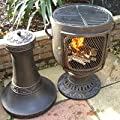 Castmaster Classic Urn Cast Iron Chiminea - Bronze from Castmaster