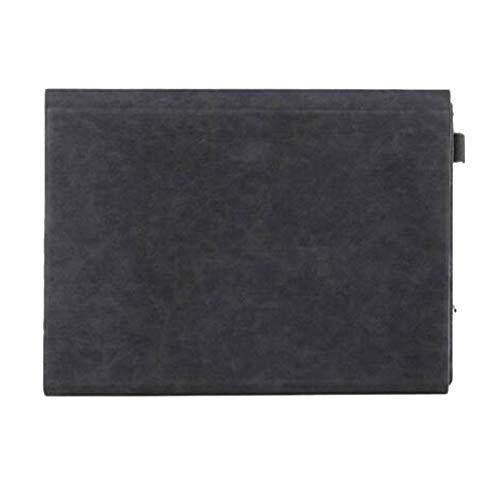 GELing Sleeve Hülle Ultrabook Laptop Tasche Kompatibel mit 12.3 Zoll Surface Pro4/5 12.3,Surface Pro3 12,Surface Go,Surface Pro6 12.3,Schwarz 2,Surface Pro6(29.6X21.5X2.8 cm)