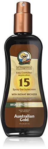 Australian Gold Sonnenschutz Spray with Bronzer SPF 15, 237 ml - Gold Bronzer