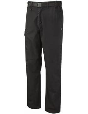Craghoppers cmj100r, Pantalones para Hombre, Negro, 38 Zoll