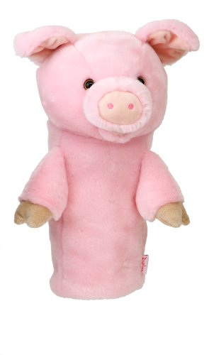 DAPHNES PIG - FUNDA CREATIVA PARA PALOS DE GOLF  COLOR ROSA