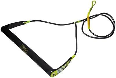 Jobe Leinen und Hanteln Wake Handle Pro - Cuerda de esquí acuático y deportes de arrastre, color negro